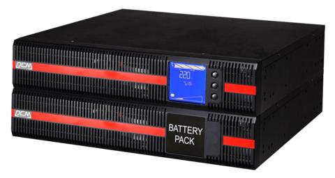 Источник бесперебойного питания Powercom MACAN, Двойное преобразование (онлайн), 6000 VA / 6000 W, Rack/Tower, клеммная колодка, LCD, Serial+USB, USB, SmartSlot, подкл. доп. батарей