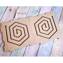 Лабиринт межполушарный Шестиугольник ToySib 08011