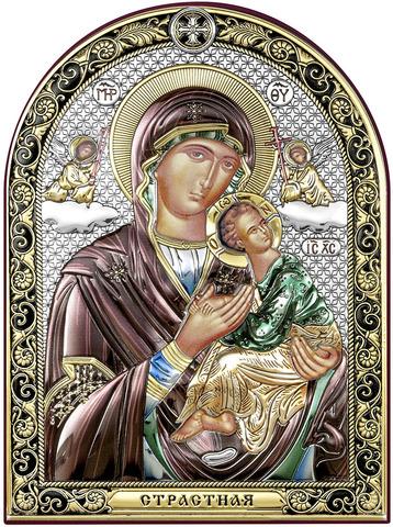 Страстная Икона Божией Матери (15х11см)
