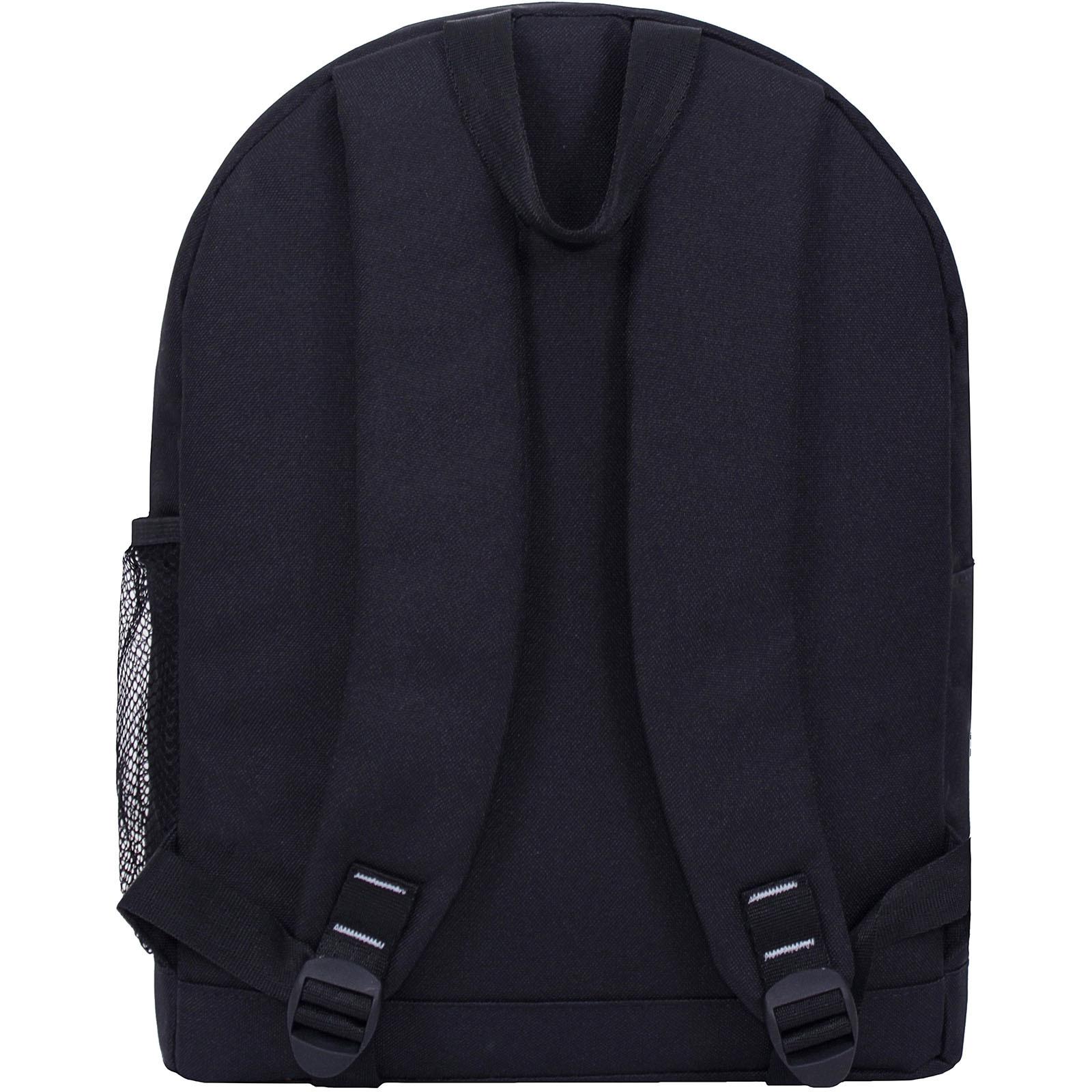 Рюкзак Bagland Молодежный W/R 17 л. черный/камуфляж (00533662) фото 4