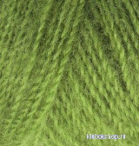 Пряжа Angora real 40 Alize 485 зеленый, фото