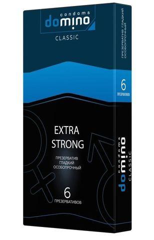 Суперпрочные презервативы DOMINO Extra Strong - 6 шт.