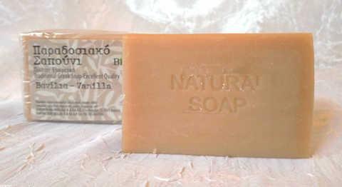 оливковое мыло с ванилью Bellas