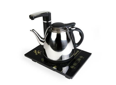 Электрический чайник с набором воды и регулировкой температуры 25х18 см. Интернет магазин чая