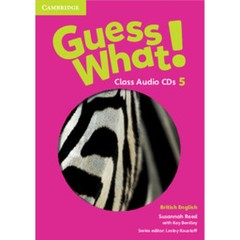 Guess What! 5 Class Audio CDs (3)