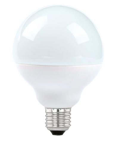 Лампа светодиодная Eglo LED LM-LED-E27 12W 1055Lm 3000K G90 11487