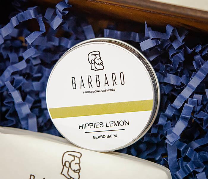 Подарочный набор Barbaro «Hippies Lemon» для ухода за бородой фото 04