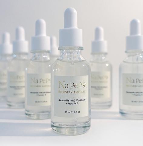 Восстанавливающая сыворотка с 10% ниацинамида и пептидами, 30 мл / 1004 Laboratory NaPep9 Recovery Ampoule - купить по выгодной цене | Korean Manyo
