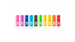 Алкалиновые батарейки Xiaomi ZMI Rainbow ZI5 AA (10 шт.)