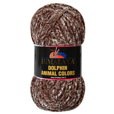 Dolphin Animal Colors HIMALAYA (100% полиэстер, 100гр/90м)