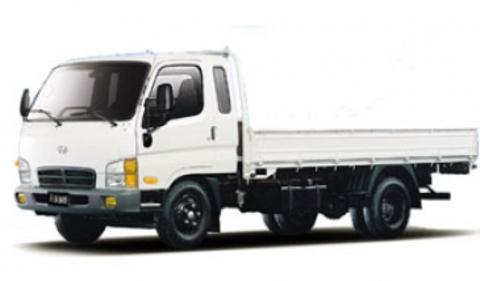 Hyundai Hd72/78 с задней пневмоподвеской