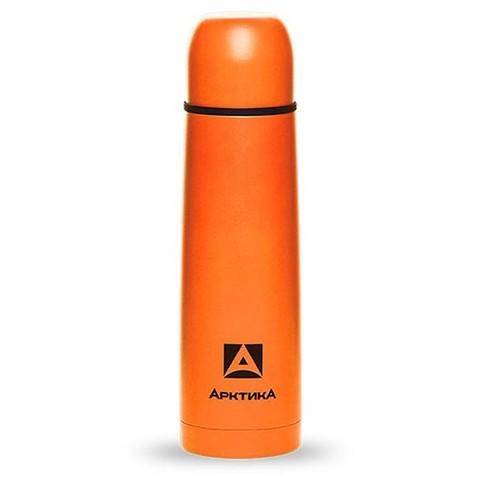 Термос Арктика (0,75 литра) с узким горлом классический, оранжевый