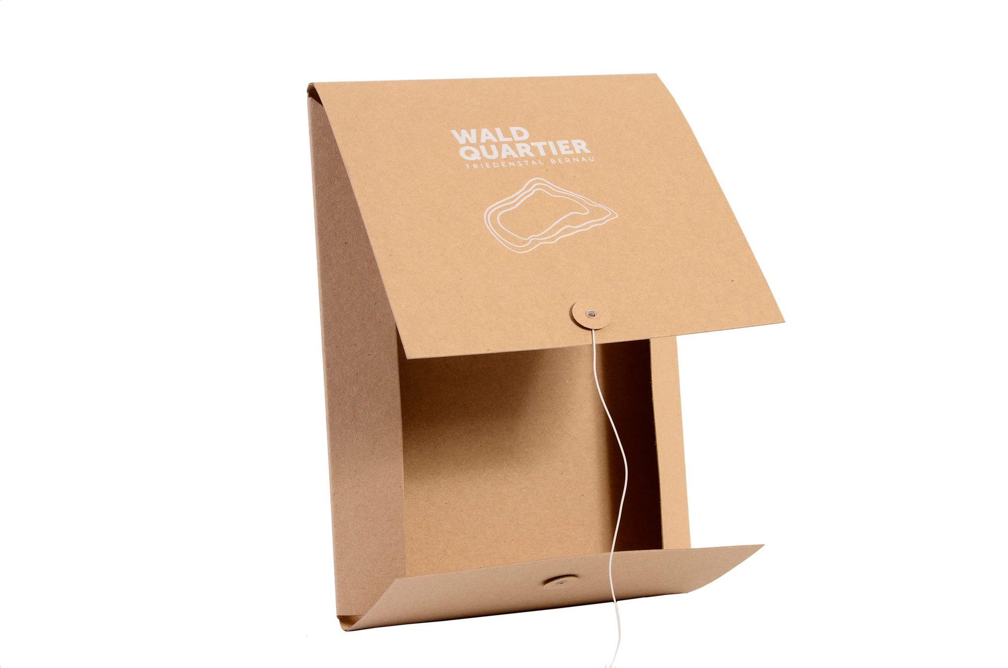 Папка деловая из  супер плотного 600 гр  крафт картона