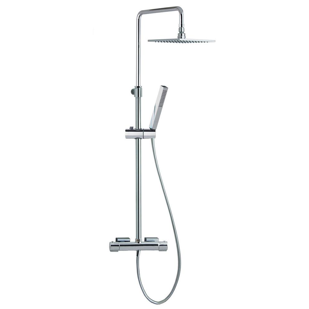 Душевая система с термостатом и тропическим душем для ванны AROLA 265402RPK225