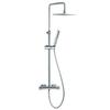 Душевая система с термостатом и тропическим душем для ванны AROLA 265402RPK225 - фото №1