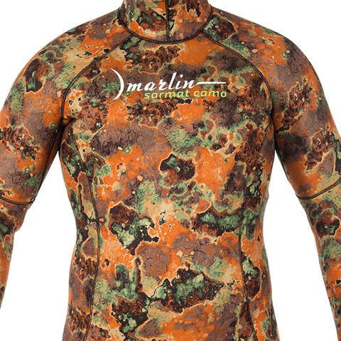 Гидрокостюм Marlin Sarmat Eco Brown 9 мм куртка – 88003332291 изображение 3