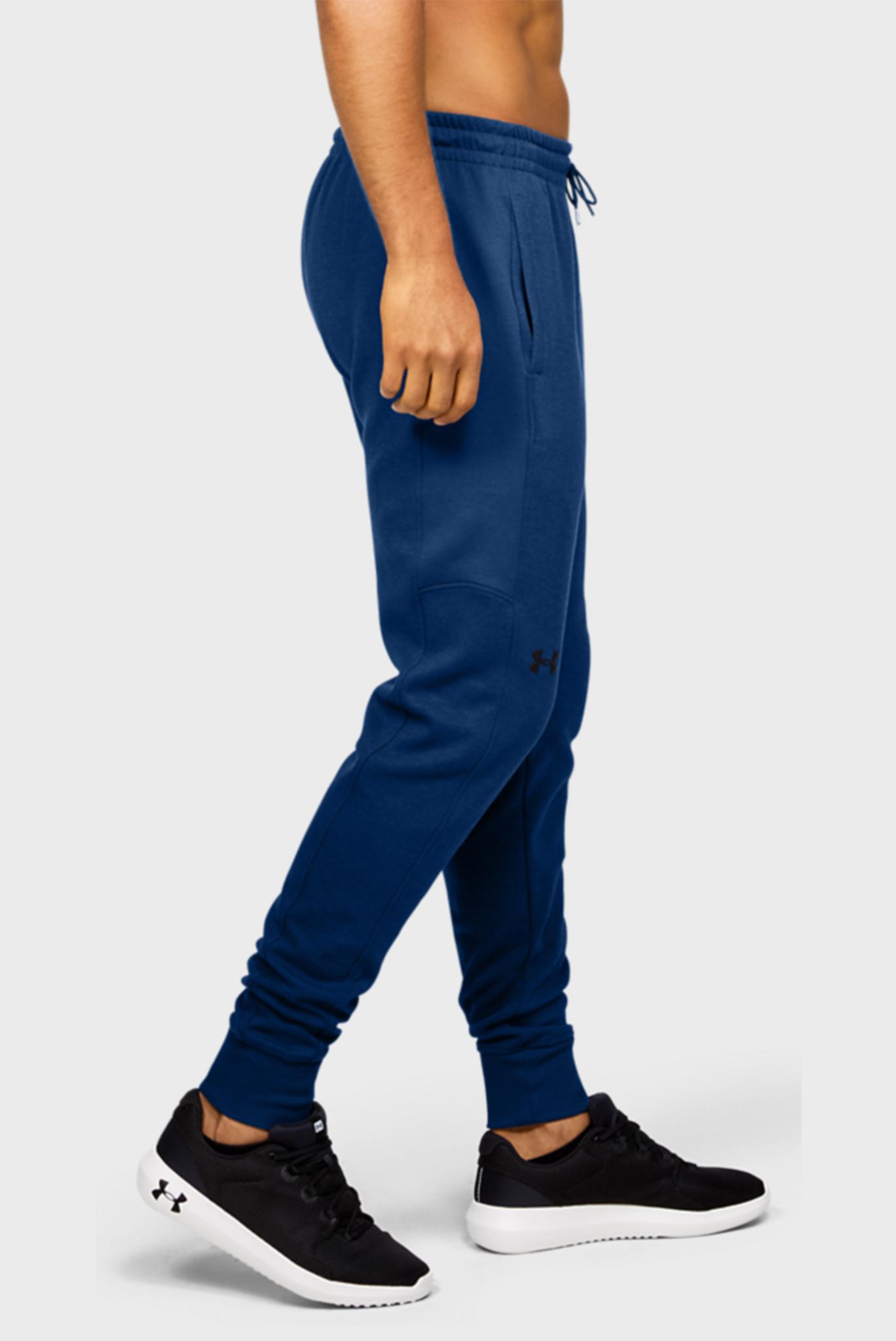 Мужские синие спортивные брюки DOUBLE KNIT JOGGER Under Armour