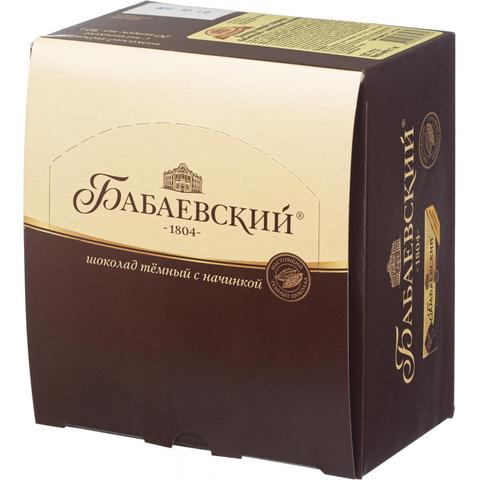 Шоколад Бабаевский с шоколадной начинкой, 20шт х 50г