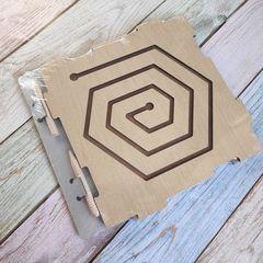 Графомоторный лабиринт Шестиугольник ToySib 08011 упаковка