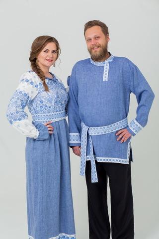 Комплект из рубахи и платья Дары солнца
