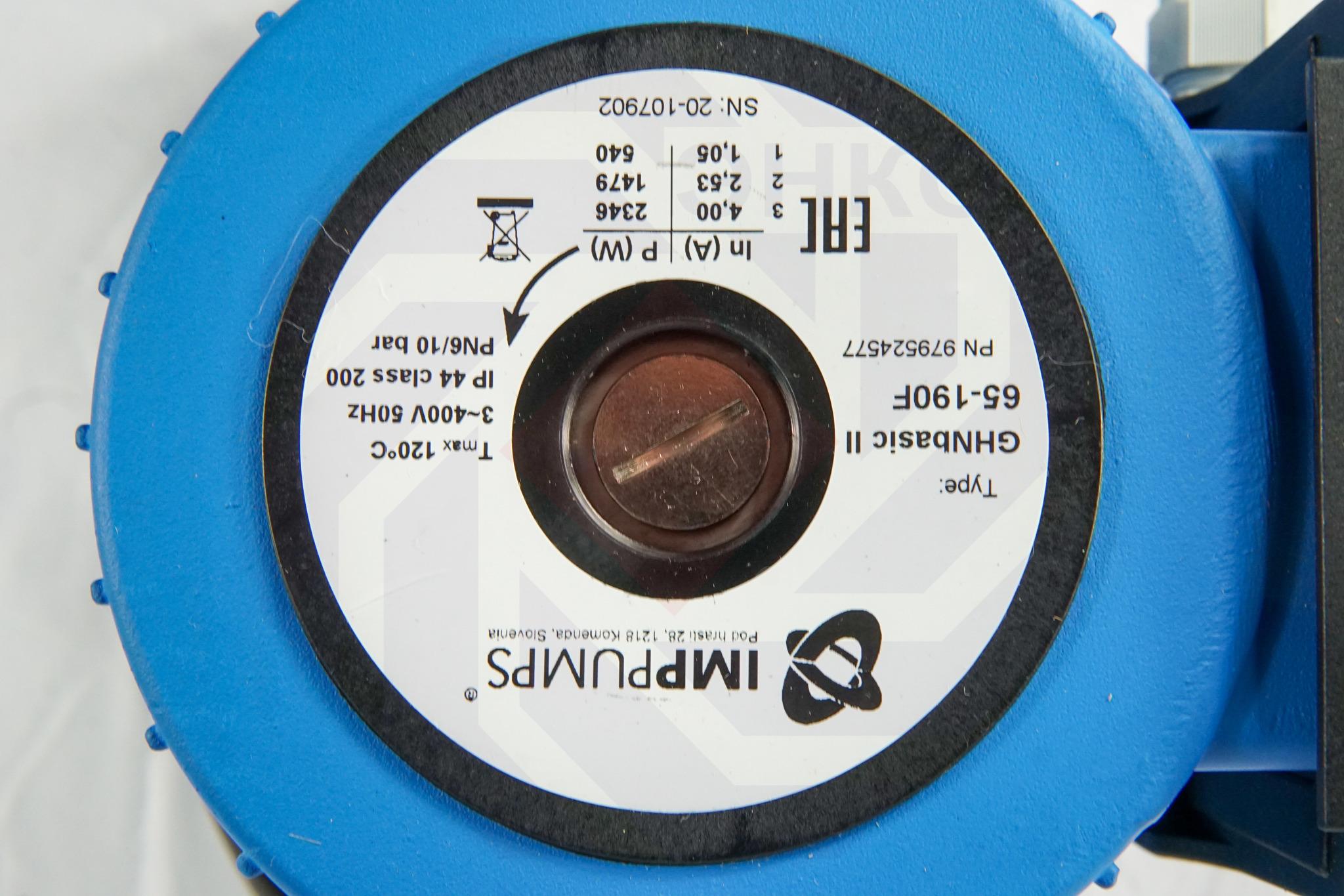 Насос циркуляционный IMP GHN Basic II 65-190 F