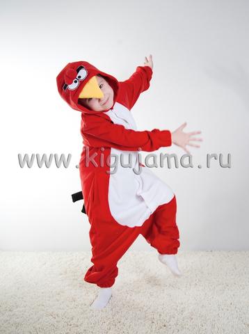 """Пижама кигуруми детская """"Angry Birds"""""""