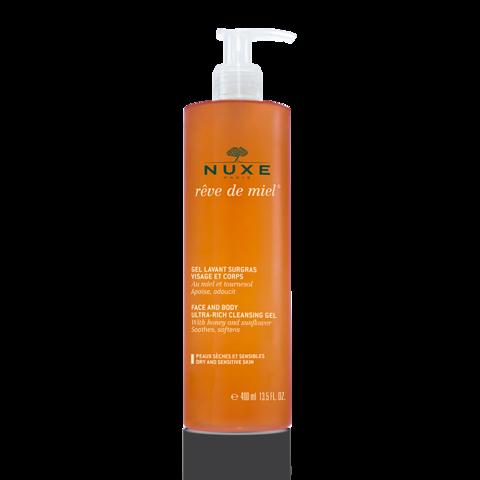 Nuxe Рэв де Мьель Очищающий гель для лица и тела
