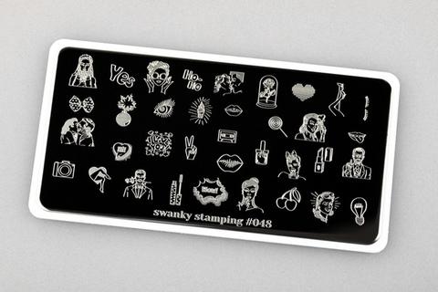 Пластина Swanky Stamping №48
