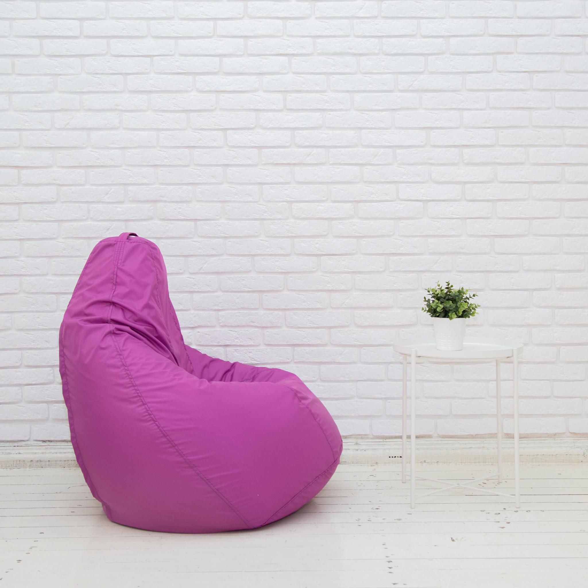 Груша М плащёвка, несъёмный чехол (фиолетовый)