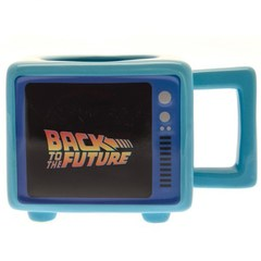 3D mug Back To The Future Retro TV ||  Кружка