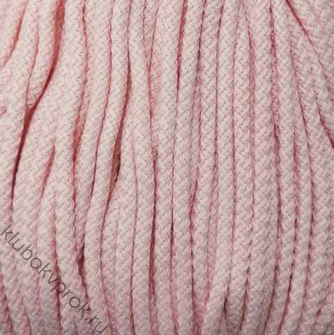 Шнур полиэфирный 5мм с сердечником 200м, №18 Розовый