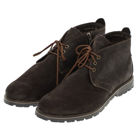 565483 ботинки мужские коричневые. КупиРазмер — обувь больших размеров марки Делфино