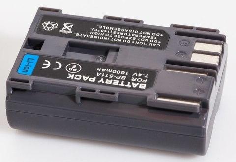 Аккумулятор для Canon BP-511 / BP-511A / BP-512 / BP-512A jnt