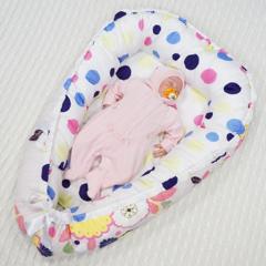 Farla. Кокон-гнездо для младенца Nest Цветочный. Фото 1