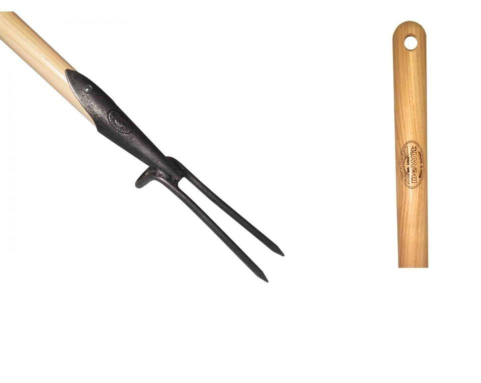 Прополочная вилка DeWit 2 зубца, рукоятка из ясеня 1400мм