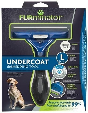 FURminator L фурминатор для крупных собак с короткой шерстью