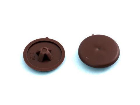 Заглушки №2 темно-коричневые (40шт) №173