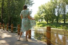 Платье Margo 1280 шифон цветы к/р
