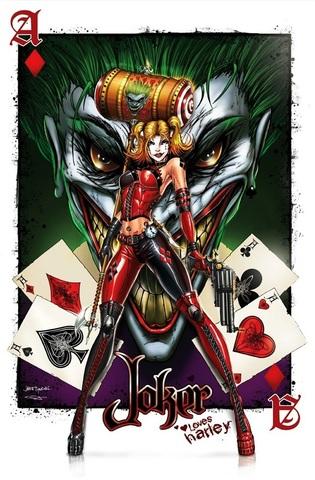 Постер Арт Джокер игральная карта