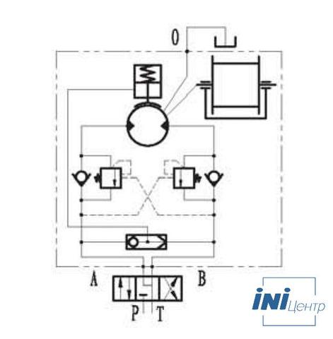 Эвакуационная лебедка IYJ2.52.5-25-90-12-ZPNE