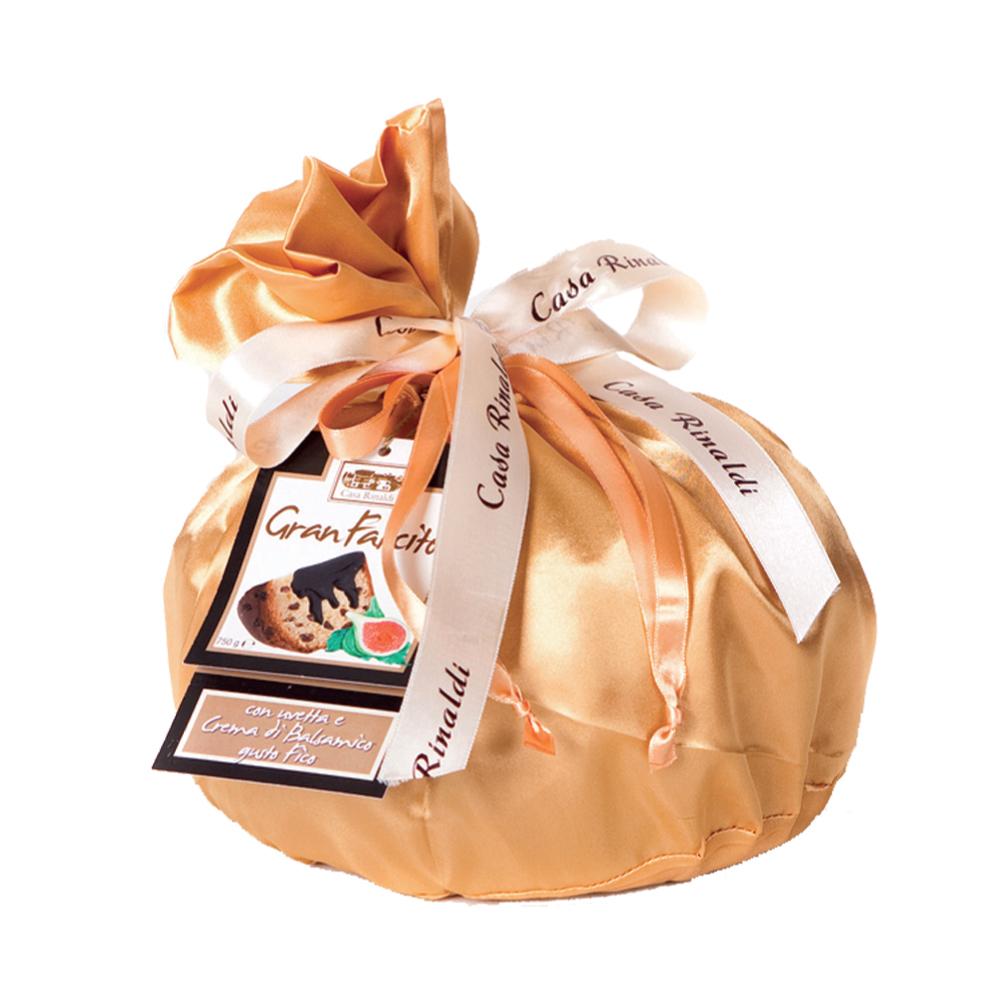 Кулич Casa Rinaldi с инжиром и бальзамическим кремом 750г цвет Шафрановый