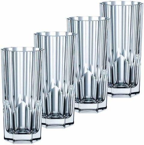 ASPEN - Набор стаканов 4 шт. высоких 309 мл хрусталь
