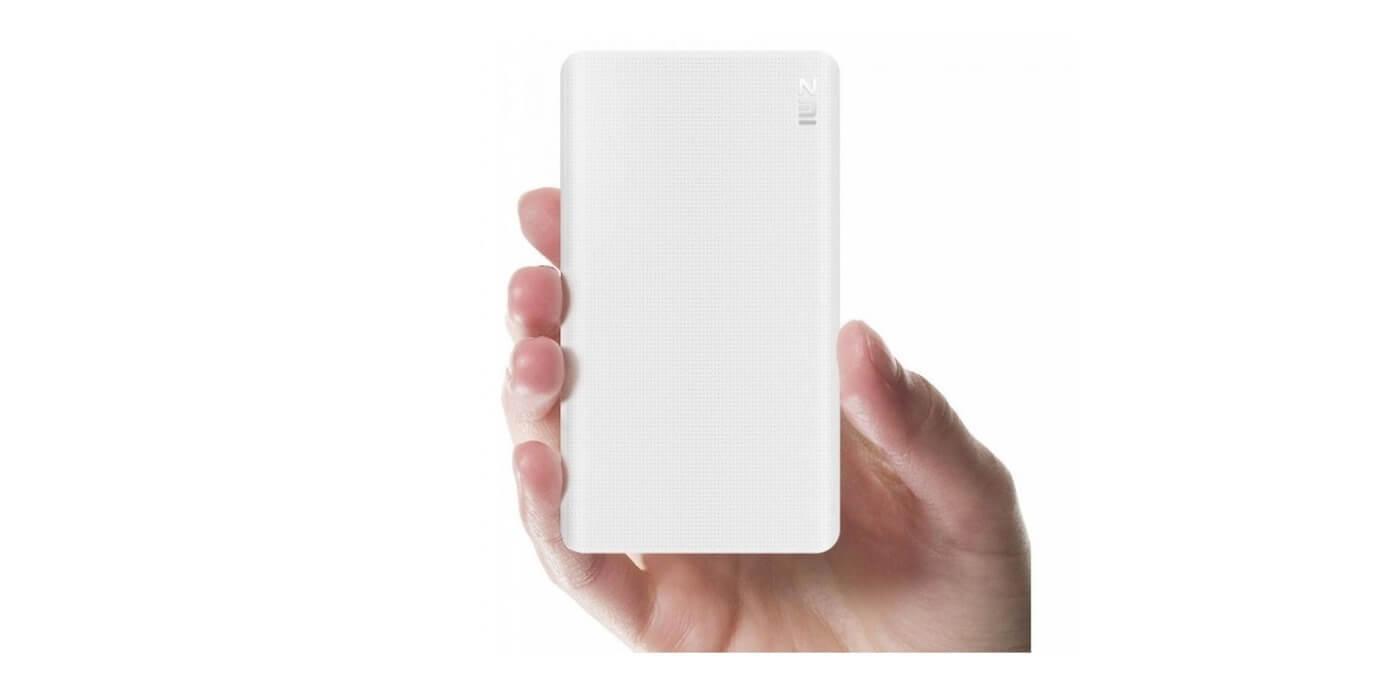 Внешний аккумулятор XIAOMI ZMI Power Bank 10000 mAh (белый)