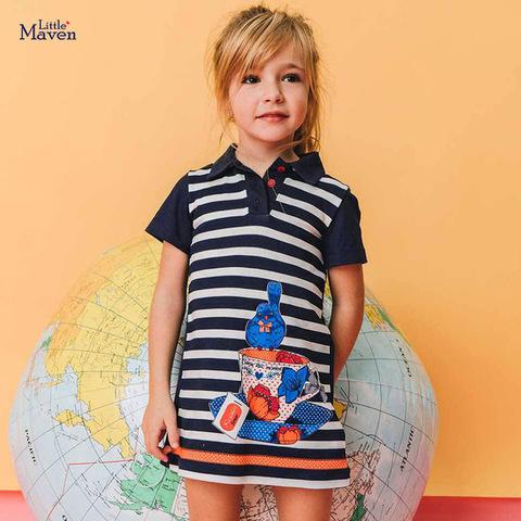 Платье для девочки Little Maven Чаепитие.
