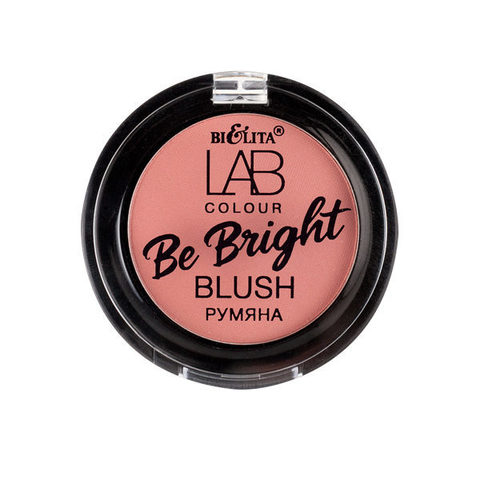 Румяна Be Bright LAB colour тон 112 peony pink , ( Белита )