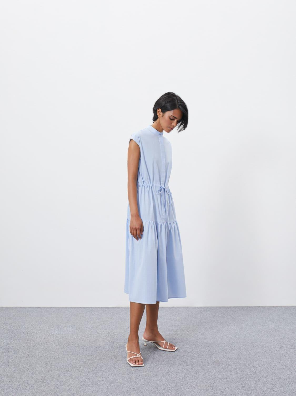 Платье Alison с кулисой и сборкой