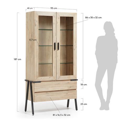 Шкаф Disset с полочками