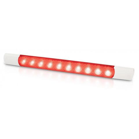 Светильник наружный светодиодный, 12 В, красный свет