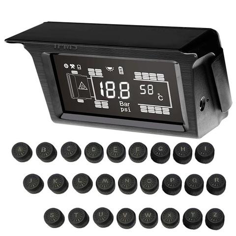 Система контроля давления в шинах TP326SE с внешними датчиками для грузовиков с прицепом (до 26 колес)