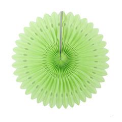 Фант с перфорацией 20 см, светло-зеленый